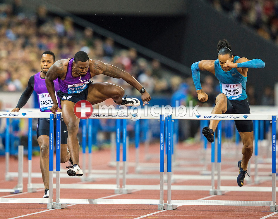 Iaaf Diamond League meeting (Weltklasse Zuerich) at the Letzigrund Stadium in Zurich, Switzerland, Thursday, Sept. 3, 2015. (Photo by Patrick B. Kraemer / MAGICPBK)