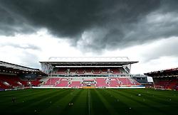 The West Stand development at Ashton Gate  - Mandatory by-line: Joe Meredith/JMP - 30/04/2016 - FOOTBALL - Ashton Gate Stadium - Bristol, England - Bristol City v Huddersfield Town - Sky Bet Championship