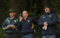 Local commentary<br />Providing coverage on the Intermediate clash on Ballinrobe Community Radio.<br />Pic Conor McKeown