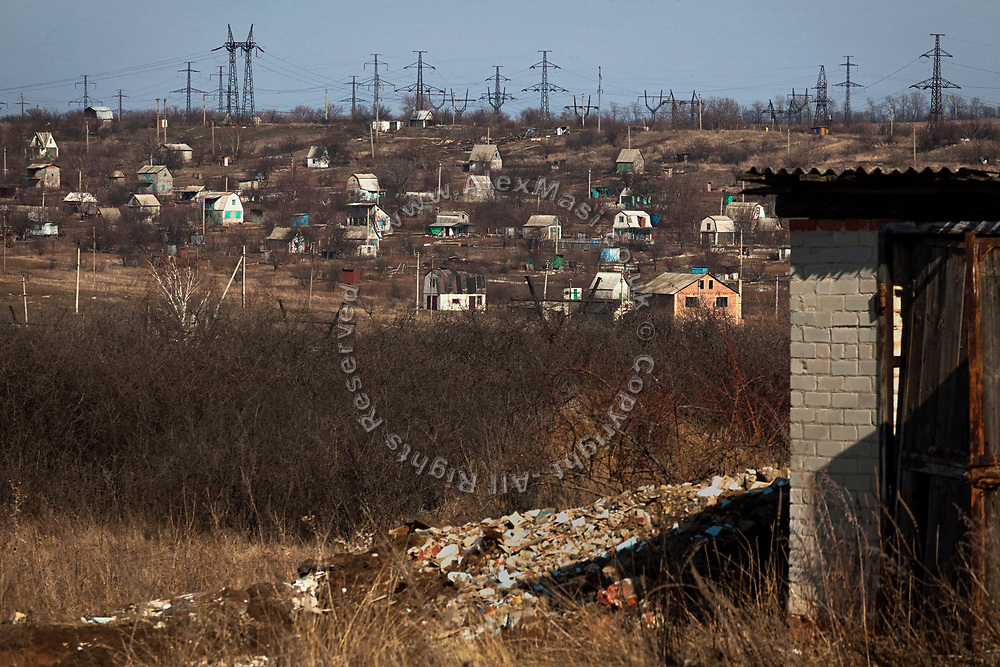Myronivs'kyi is a small town near the frontline of eastern Ukraine.