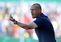 FUSSBALL  DFB POKAL        SAISON 2012/2013 SpVgg Unterchaching - 1. FC Koeln  18.08.2012 Trainer Holger Stanislawski (1. FC Koeln)