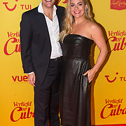NLD/Hilversum/20190211- Verliefd op Cuba premiere, Maaike Martens en partner Bart