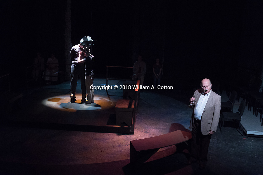 "The Bas Bleu Theatre Company rehearses its production of ""Equus."" May 25, 2018."