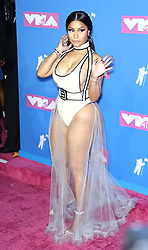 August 21, 2018 - New York City, New York, USA - 8/20/18.Nicki Minaj at the 2018 MTV Video Music Awards held at Radio City Music Hall in New York City..(NYC) (Credit Image: © Starmax/Newscom via ZUMA Press)
