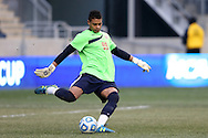 15 December 2013: Maryland's Zack Steffen. The University of Maryland Terripans played the University of Notre Dame Fighting Irish at PPL Park in Chester, Pennsylvania in a 2013 NCAA Division I Men's College Cup championship match. Notre Dame won the game 2-1.