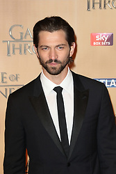 © Licensed to London News Pictures. 18/03/2015, UK. Ian Michiel Huisman (Daario Naharis), Game of Thrones - Series Five World Premiere, Tower of London, London UK, 18 March 2015. Photo credit : Richard Goldschmidt/Piqtured/LNP