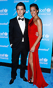 Kevin Jonas and Danielle Jonas attend the 7th Annual UNICEF Snowflake Ball at Cipriani 42nd Street in New York City, New York on November 29, 2011.