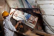 Congonhas do Norte_MG, Brasil...Restauracao da igreja Matriz de Santana em Congonhas do Norte, Minas Gerais...The restoration in the Santana church in Congonhas do Norte, Minas Gerais...Foto: LEO DRUMOND / NITRO