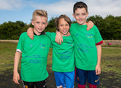 Children pose for a photo during the Bristol Sport Youth Festival - Photo mandatory by-line: Dougie Allward/JMP - Mobile: 07966 386802 - 06/06/2015 - SPORT - Multi-Sport - Bristol - SGS Wise Campus - Bristol Sport Festival Of Youth Sport - Festival Of Youth