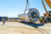 Lifting the Nacelle of a new turbine