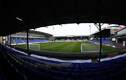 A general view of Oldham Athletic's SportsDirect.com Park - Mandatory by-line: Joe Dent/JMP - 26/09/2017 - FOOTBALL - Sportsdirect.com Park - Oldham, England - Oldham Athletic v Peterborough United - Sky Bet League One