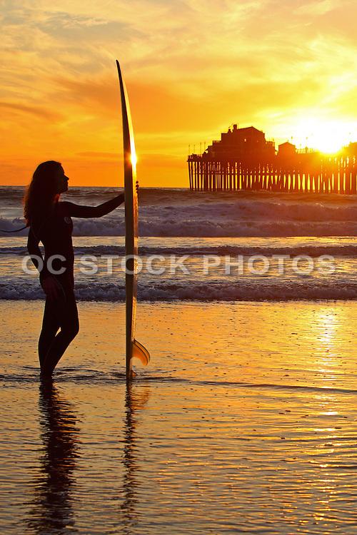 Female Surfer