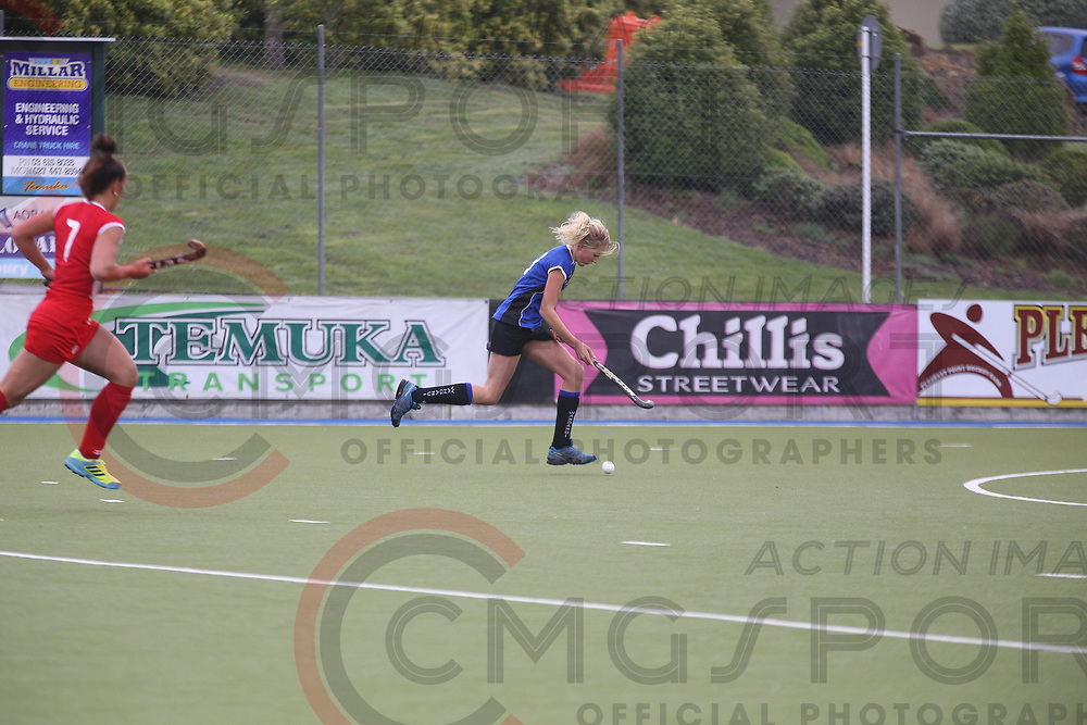2017 National Under 15 Girls Championship Tournament<br /> POVERTY BAY V WANGANUI<br /> Timaru<br /> October 10 2017<br /> Photo by CMGSPORT<br /> www.cmgsport.co.nz