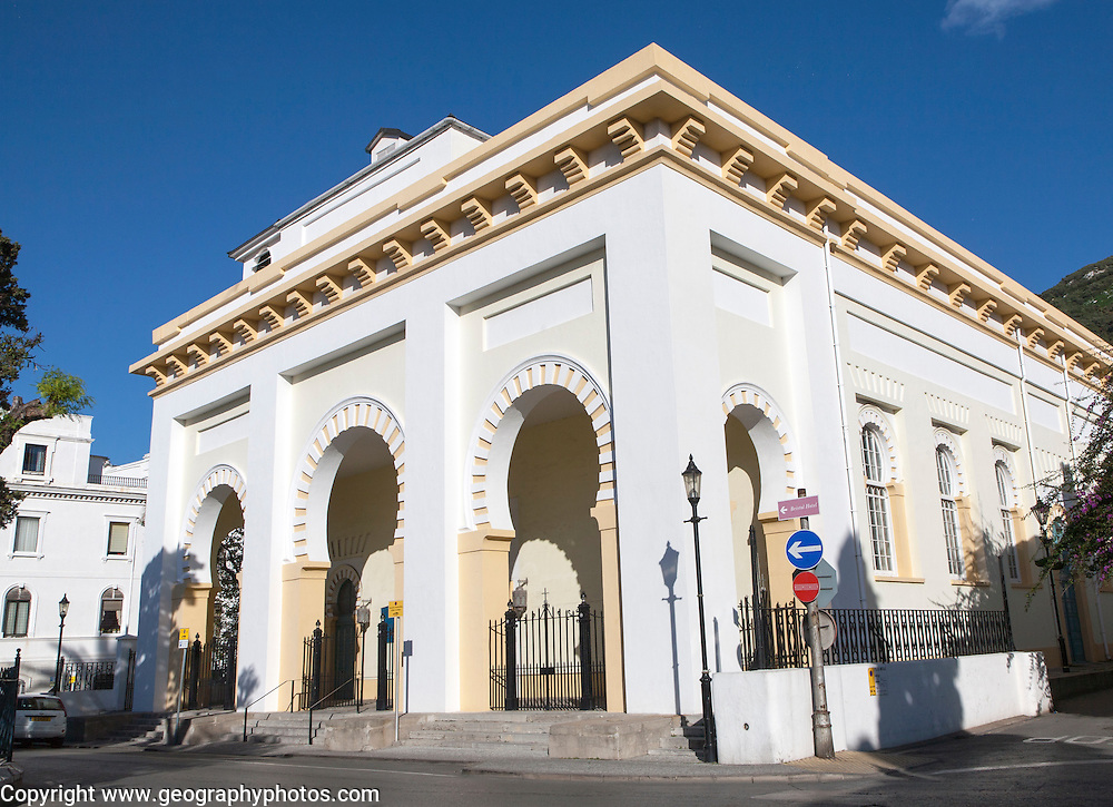 Cathedral church of the Holy Trinity Gibraltar, British terroritory in southern Europe