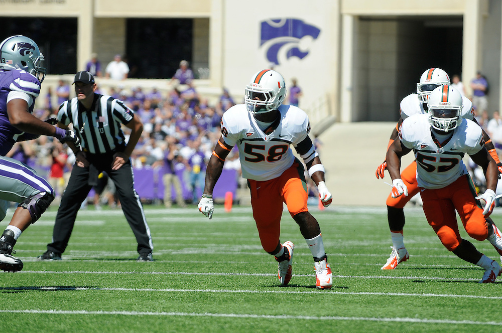 2012 Miami Hurricanes Football @ Kansas State