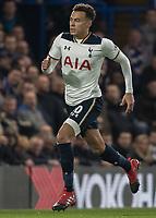 Football - 2016/2017 Premier League - Chelsea V Tottenham Hotspur<br /> <br /> Dele Alli of Tottenham at Stamford Bridge.<br /> <br /> COLORSPORT/DANIEL BEARHAM
