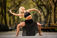 Dance As Art The New York City Photography Project Central Park Series with dancer Jenny Bohstrom
