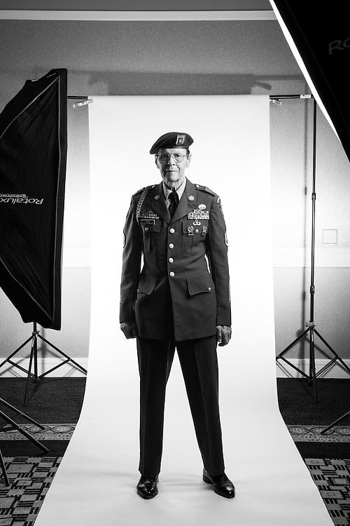 William A. Dean<br /> Army<br /> Staff Sergeant (E-6)<br /> Medic<br /> Korea<br /> 1952 - 1979<br /> <br /> Veterans Portrait Project<br /> San Diego, California