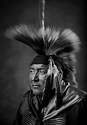 Scott Curtis, Cheyenne/Diné, southern straight dancer from Navajo, N.M.