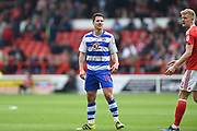 Reading striker Yann Kermorgant (18) during the EFL Sky Bet Championship match between Nottingham Forest and Reading at the City Ground, Nottingham, England on 22 April 2017. Photo by Jon Hobley.