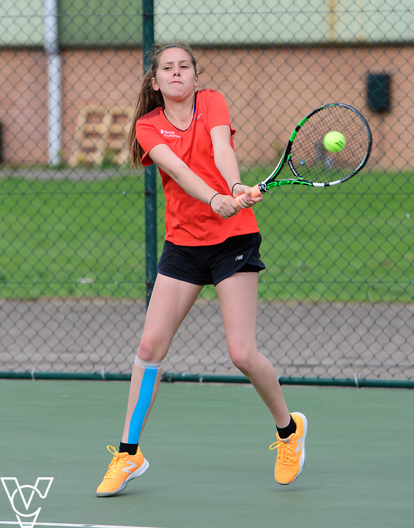 Aberdare Cup - Wilmslow High School<br /> <br /> Team Tennis Schools National Championships Finals 2017 held at Nottingham Tennis Centre.  <br /> <br /> Picture: Chris Vaughan Photography for the LTA<br /> Date: July 14, 2017