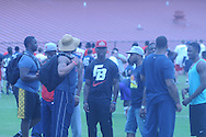 Ole Miss football camp in Oxford, Miss. on Saturday, June 1, 2013.