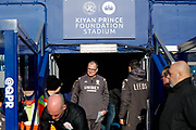 Leeds United Manager Marcelo Bielsa  during the EFL Sky Bet Championship match between Queens Park Rangers and Leeds United at the Kiyan Prince Foundation Stadium, London, England on 18 January 2020.
