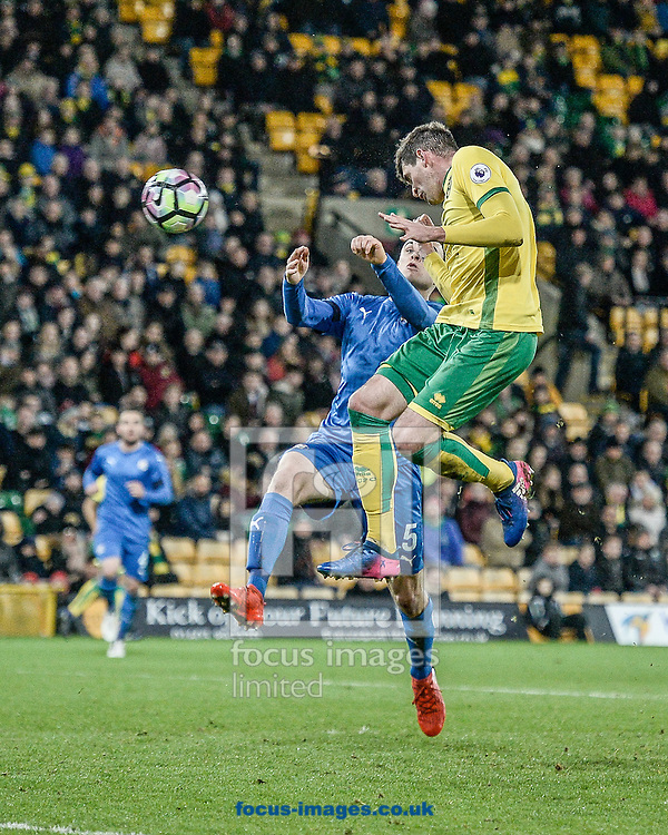 Kyle Lafferty of Norwich City U23 score his second goal v Dinamo Zagreb U23 during the Premier League International Cup Quarter-Final match at Carrow Road, Norwich<br /> Picture by Matthew Usher/Focus Images Ltd +44 7902 242054<br /> 27/02/2017