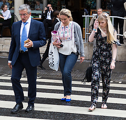 London, July 26th 2017. Mother of terminally ill baby CHARLIE GARD, CONNIE YATES arrives at the High Court in London to hear whether she and her partner Chris Gard will be able to bring their baby home to die, following their capitulation in their court case to seek alternative therapies in the United States.