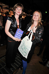 Left to right, FRANCES OSBORNE and MIRANDA RICHARDSON at a party to celebrate the publication of 'A Matter of Life and Death' by Ronni Ancona and Alistair McGowan held at Daunt Books, 83 Marylebone High Street, London on 8th October 2009.