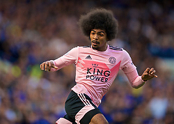LONDON, ENGLAND - Sunday, August 18, 2019: Leicester City's Hamza Choudhury during the FA Premier League match between Chelsea's  FC and Leicester City FC at Stamford Bridge. (Pic by David Rawcliffe/Propaganda)