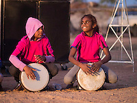 """""""Drum Atweme"""" performance at the historic Telegraph Station, Alice Springs"""
