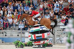 De Hornois Caro-Belle, BEL, Idyllis L<br /> Children European Championships Jumping <br /> Samorin 2017© Hippo Foto - Dirk Caremans<br /> 12/08/2017