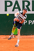 Sam Querrey (usa) during the Roland Garros French Tennis Open 2018, day 2, on May 28, 2018, at the Roland Garros Stadium in Paris, France - Photo Pierre Charlier / ProSportsImages / DPPI