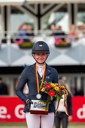 Hinners Sophie (GER)<br /> Balve - Longines Optimum 2019<br /> Siegerehrung<br /> Deutsche Meisterschaft Springen Damen<br /> 15. Juni 2019<br /> © www.sportfotos-lafrentz.de/Stefan Lafrentz