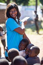 Jackqui Maganga (Office Administrator). Visit to Namasimba Under 6 centre in Blantyre. Three-day trip to Malawi with the charity Mary's Meals, June 26-29. 2016.