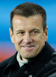 Coach of Brazil Dunga during the 2010 FIFA World Cup South Africa Group G match between Brazil and North Korea at Ellis Park Stadium on June 15, 2010 in Johannesburg, South Africa. Brazil defeated Korea 2-1. (Photo by Vid Ponikvar / Sportida)
