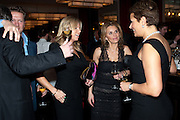 SOREN THOLSTRUP; FRU THOLSTRUP; JULIE SULEYMAN; ANNETTE NYGREN, Fine Wine and Dine in aid of  Sick Children's Trust. Cafe Anglais. London. 1 March 2012