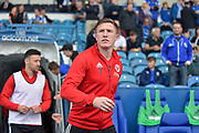 Sheffield United midfielder John Lundstram (7) during the EFL Sky Bet Championship match between Sheffield Wednesday and Sheffield Utd at Hillsborough, Sheffield, England on 24 September 2017. Photo by Adam Rivers.