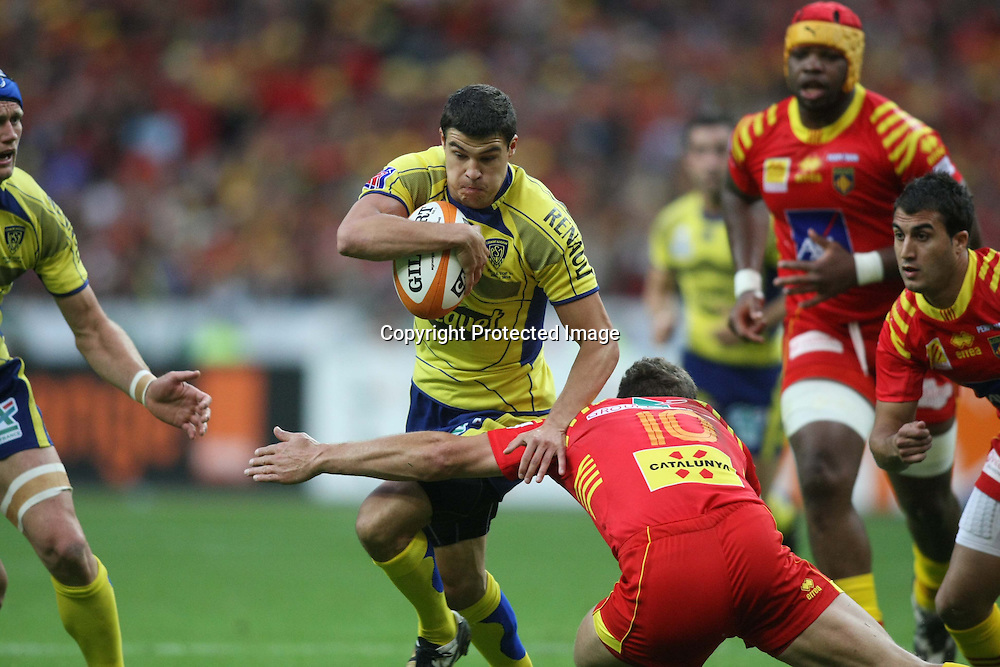 RUGBY : FINALE TOP 14 - CLERMONT - PERPIGNAN<br />