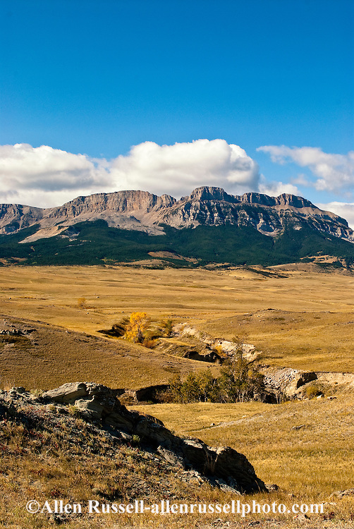 Sawtooth Ridge, Sun River Wildlife Management Area, Lewis and Clark National Forest, NW of Augusta, Montana