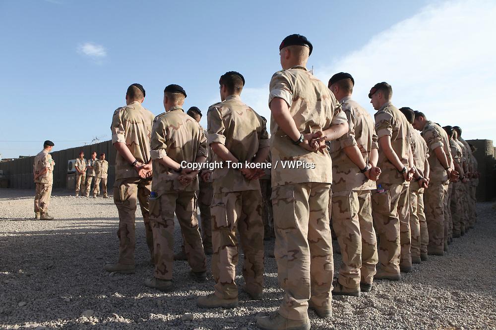 Dutch troops in Uruzgan, Afghanistan