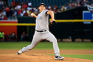 PHOENIX, AZ - MAY 28:  Cesar Vargas #49 of the San Diego Padres delivers a pitch in the first inning against the Arizona Diamondbacks at Chase Field on May 28, 2016 in Phoenix, Arizona.  (Photo by Jennifer Stewart/Getty Images)