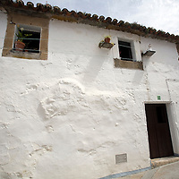 Typical architecture, Brozas, Caceres, Spain