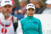 Mamiko Higa walks down the 18th during the Ricoh Women's British Open golf tournament at Royal Lytham and St Annes Golf Club, Lytham Saint Annes, United Kingdom on 3 August 2018. Picture by Simon Davies.