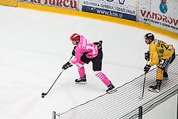 CRNOVIC Aljosa during Alps Hockey League match between HC Pustertal and HDD SIJ Jesenice, on October 3, 2019 in Ice Arena Podmezakla, Jesenice, Slovenia. Photo by Peter Podobnik / Sportida