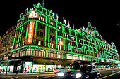 Harrods Christmas Lights