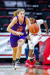 NORMAL, IL - January 05: Sydney Tucker during a college women's basketball game between the ISU Redbirds and the Purple Aces of University of Evansville January 05 2020 at Redbird Arena in Normal, IL. (Photo by Alan Look)