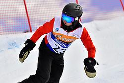 MOEN Kristian, SB-LL1, NOR, Banked Slalom at the WPSB_2019 Para Snowboard World Cup, La Molina, Spain