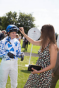 LADY NATASHA RUFUS-ISAACS, Glorious Goodwood. Thursday.  Sussex. 3 August 2013